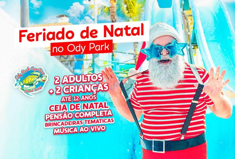 Feriado de natal no ody park